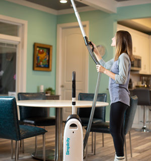 Simplicity Clean Air Upright Vacuum with Tools