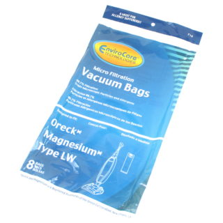 Aftermarket 8pk paper bags for Oreck Magnesium LW type vacuums