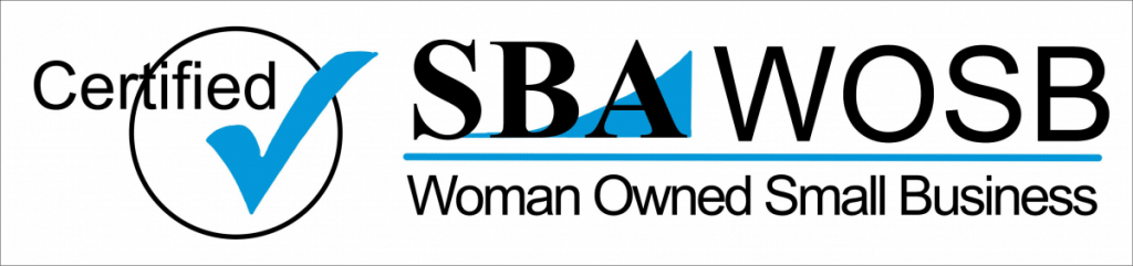 SBA certified woman owned small business banner