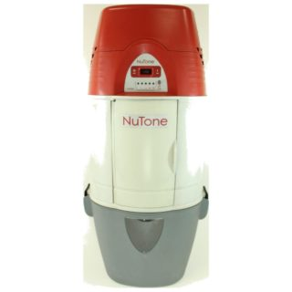 Pre-Owned Nutone Central Vac HEPA filtration Dual air intake