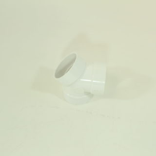 3 Way 45 Degree Coupling/elbow/double WYE Central Vacuum PVC Tubing Fitting Pipe