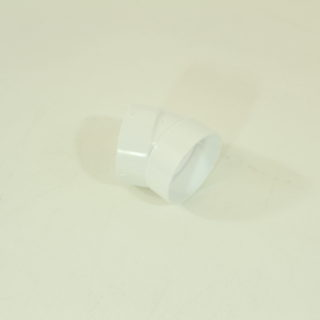 30degree Elbow for 2in tubing Central Vac PVC Fitting Pipe