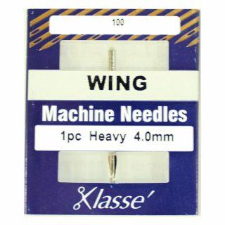 Klasse Hemstitch Wing 4mm Sewing Machine Needle
