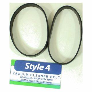 Style 1 & 4 Upright Canister 3550 2 Pk Belts