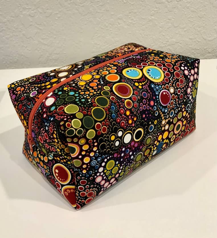 Boulder Beyond The Basics Boxy Toiletry Bag Sewing Class