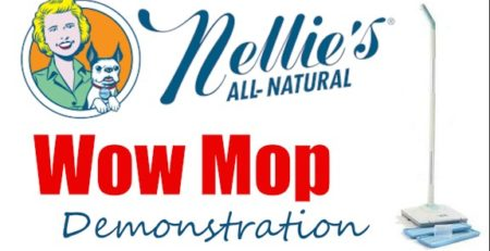 Check out Nellies WOW mop and Nellies line of all natural cleaning products!