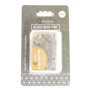 EverSewn Color Glass Head Pins