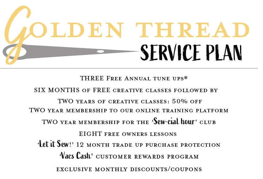Golden Thread Service Plan
