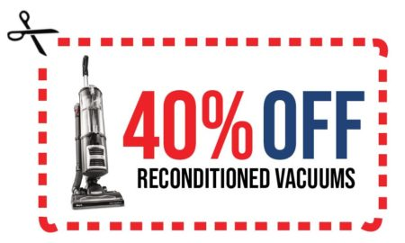 All Vacuums R Us reconditioned including Shark Dyson Oreck 40% off price as marked till november 21st