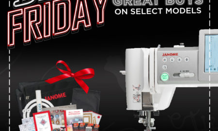 Black Friday Sale on Janome M7 Continental