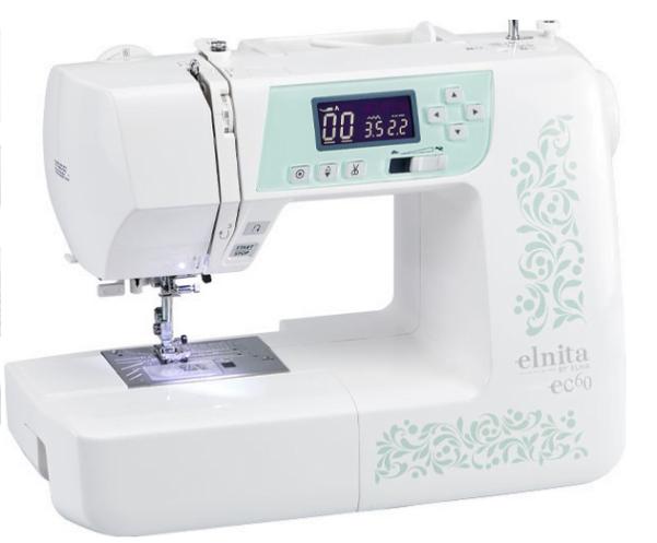Elnita by Elna EC60 Computerized Sewing Machine