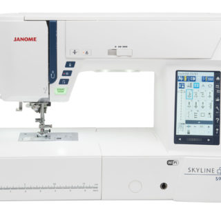 Janome Skyline S-9 Sewing and Embroidery Machine