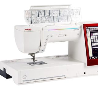 Janome Horizon Memory Craft 14000 Built in Embroidery machine