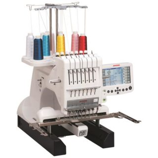 Janome memory craft MB-7 home-use seven-needle embroidery machine